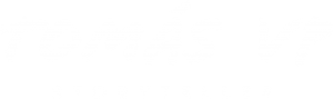 Tomás VP Storyteller | logo branco Tomás VP Storyteller