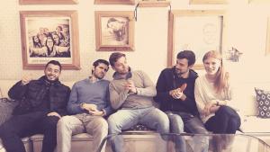Tomás VP Storyteller | Solo Traveler Lisbon Goodmorning Hostel