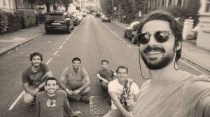 traveling friends london