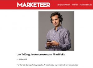 Tomás VP Storyteller   Marketeer - Um Triângulo Amoroso com Final Feliz