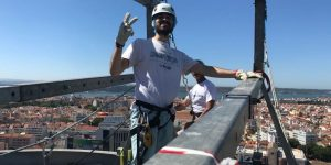 Tomás VP Storyteller | Rappel Amoreiras rooftop